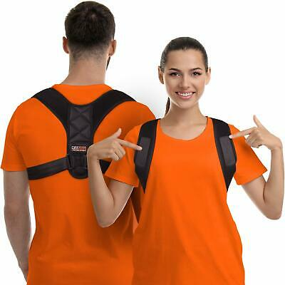Posture Corrector for Men and Women - Upper Back Brace Straightener with