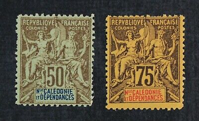 CKStamps: France Stamps Collection New Caledonia Scott#57 Mint LH OG