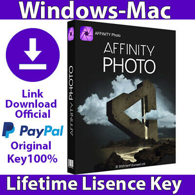 Affinity photo 1.8✔️ Lifetime key 🔑 FAST DELIVERY 📬 Windows - Mac ✔️