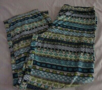 Secret Treasures Women Pajama Pants Size XL(16-18) Fleece Sleep Lounge
