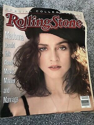 **Madonna Rolling Stone Music Magazine March 1989 Collectors Issue**