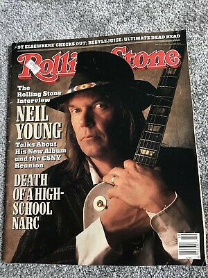 **Neil Young - The Beatles Us Rolling Stone Magazine June 1988**