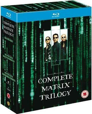 Blu-ray: The Complete Matrix Trilogy (2008, 3-Disc Set, United Kingdom) New