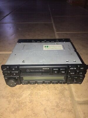 Mercedes Oem W140 Radio Replacement For 1994-98 Mercedes Benz- Comes With Code