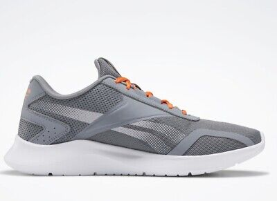 Reebok Mens Energylux 2.0 Cold Grey/Fieora Running Shoes Size 10.5
