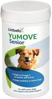 Lintbells YuMOVE Senior Dog Joint Supplement for Older Stiff Dogs 120 Tablets!!