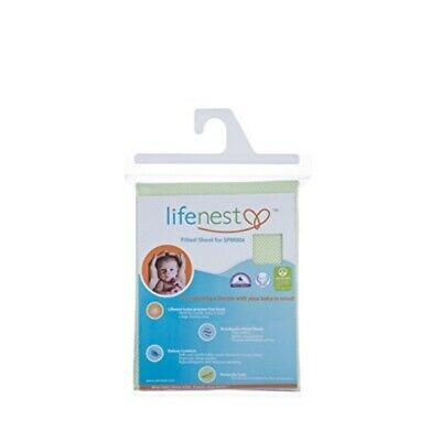 Ubimed Breathable Fitted Sheet for Lifenest, Green