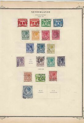 netherlands stamps page ref 17090