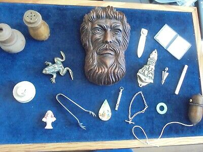 Top Notch High Value Antique Job Lot With Silver  ( Some Very Scarce )  914 X