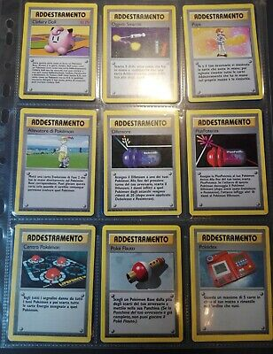 Pokemon lotto addestramento x44 - x7 Rare No Holo - Set Base Jungle Fossil Neo..