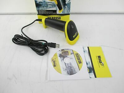 Wasp 633808121662 Wasp WLR8950 Bi-Color CCD Barcode Scanner - NEW, OPEN BOX