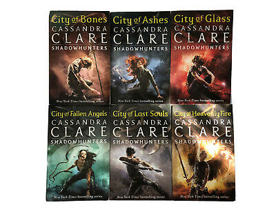 SHADOWHUNTERS SERIES 6 BOOK COLLECTION City Of Bones   Cassandra Clare