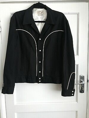 Rodeo Ranch wear Gab Jacket Mens Gab jacket 1950s style ex condition