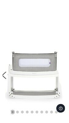 SnuzPod 3 Snuz Pod 3 Bedside Crib Dove Grey Brand NEW In Unopened Box.