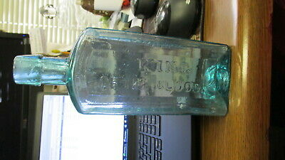 Buffalo, N.Y. D. Ransom & Co. King of The BLOOD Medicine Bottle BIMAL NEW YORK
