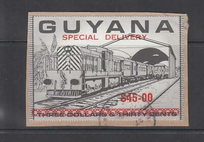 GUYANA - Special Delivery $45 used on piece (753)