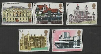 1975 Decimal Commemoratives. Sg975-979. Architectural Heritage. Unmounted Mint.
