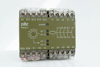 Pilz PNOZ V3s 24VDC 474789 Safety Relay
