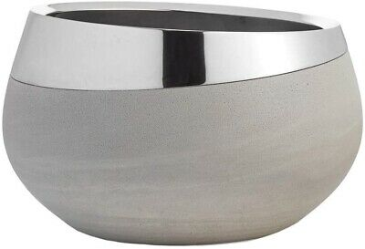 Nambe Forte Alloy and Concrete Bowl 8""