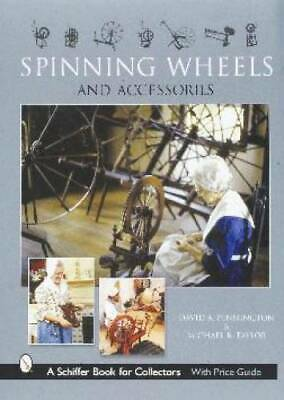 Vintage Spinning Wheels ID$ Book Ashford Shaker Etc