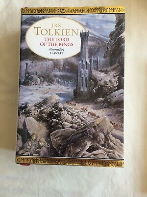 The Lord of The Rings, The Hobbit - J R R Tolkien, illustrated by Alan Lee