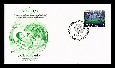 Dr Jim Stamps 12C Noel Christmas First Day Issue Canada Fleetwood Cover
