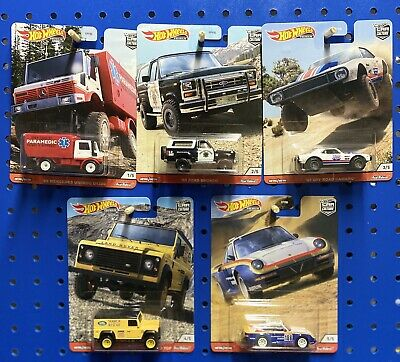 Hot Wheels Premium Car Culture 2020 Wild Terrain Set