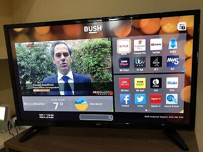 Bush TV 32inch Smart HD Ready TV Freeview Play