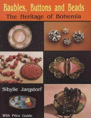 Collector Guide to Vintage European Costume Jewelry, Brooch, Buttons incl Glass