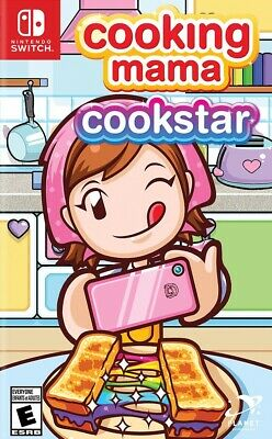 Cooking Mama Cookstar Nintendo Switch New Sealed