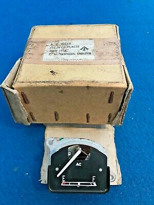 Ac Delco Fuel Gauge 7228873 Military Issue Possibly Bedford New Old Stock