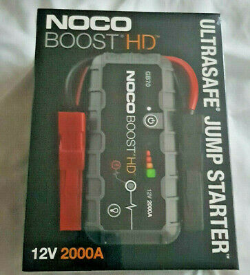 NOCO GB70 Genius Boost HD 2000A 12V UltraSafe Lithium Jump Starter NEW style