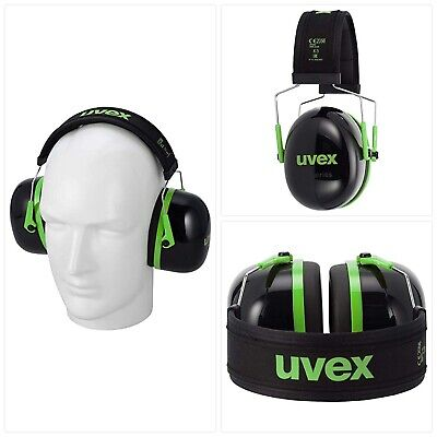 Uvex K-Series Safety Earmuffs - Hearing Protection Ear Defenders - Different Lev