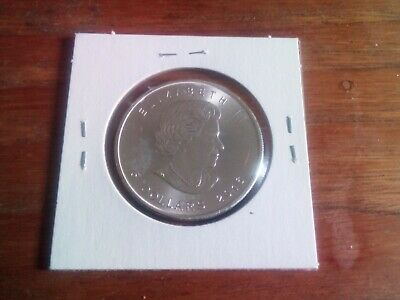 1 X Canada $5 1oz Silver Maple Leaf Bullion Coin .9999. Bullion 2020. Few Left!