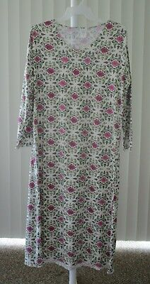 Long Nightgown Gown Long Sleeve Sleepwear Capelli New York New Size XL