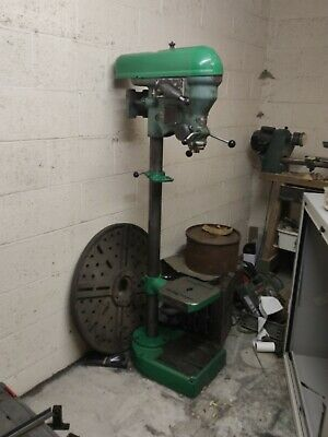 Elliott Progress 2GS floor standing drill press Pillar Drill 10 speed gear drive