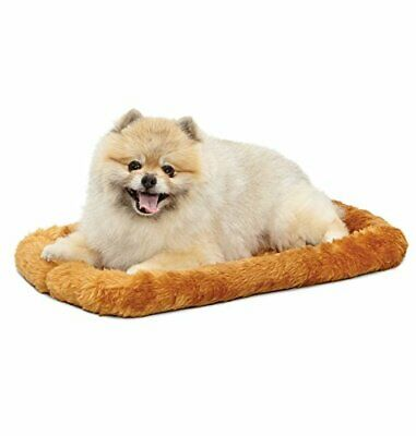 """MidWest Quiet Time Pet Bed, Cinnamon, 22"""" x 13"""""""