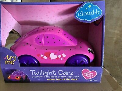 Twilight Carz Pink Hearts Bedtime Projector
