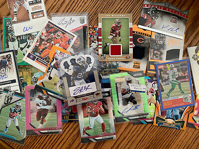NFL Football Hot Pack Card Lot! AUTO-Game Used-LOTS OF ROOKIES! *GUARANTEED HIT*