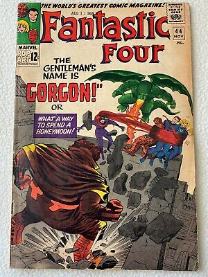 FANTASTIC FOUR 44 ~ First Gorgon Appearance ~ FN