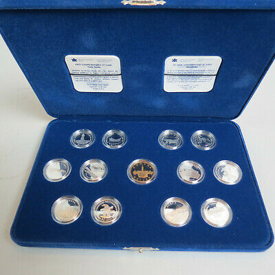 1992 Canada Special 13 Pc Silver Coin Set w. Box & Papers