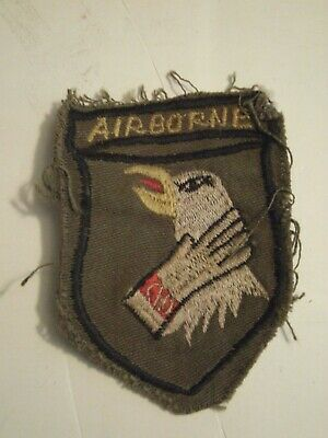 THEATER MADE 101st AIRBORNE DIVISION  PATCH