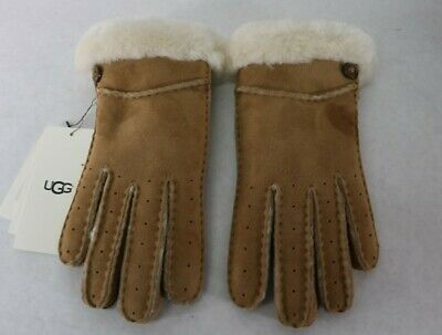 UGG Women's New Bailey Glove in Chestnut Size Small $155 NWT READ AD!
