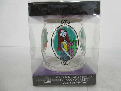 A Nightmare Before Christmas Glass Goblet 600ml