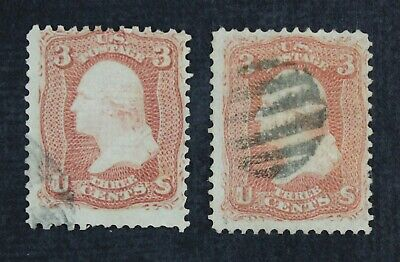 CKStamps: US Stamps Collection Scott#88 94 3c Washington Used