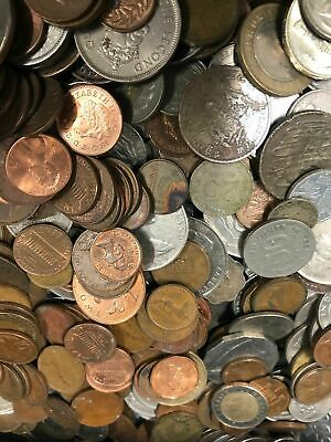 Bulk Lot Of 1Kg Mixed World Coins - Perfect For Noodling