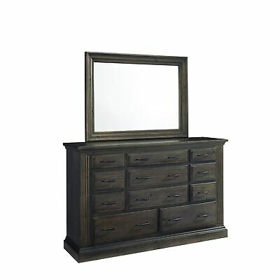 Fordham Drawer Dresser Mirror Grey 11-drawer