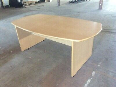 Beech Rectangle Conference Table