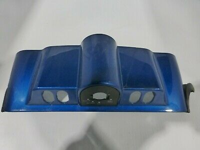 2005 Harley Davidson Flhtcui, Blue Inner Fairing Cap Switch Panel (Ops7012)