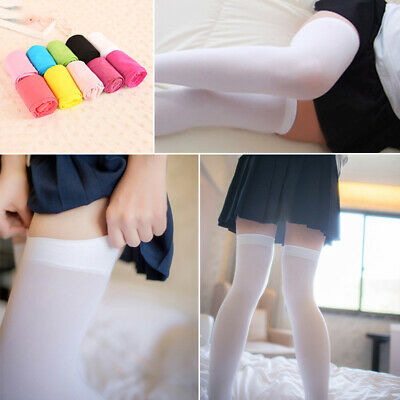 Long Knee High Socks Fashion Bow Over The Knee Socks Stockings Girls Thigh Sock